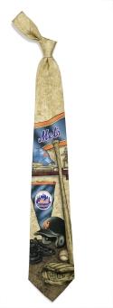 New York Mets Nostalgia Tie