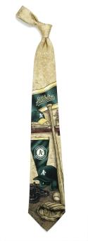 Oakland A's Nostalgia Tie