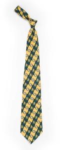 Oakland A's Pattern Tie