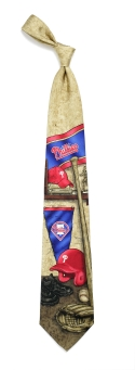Philadelphia Phillies Nostalgia Tie