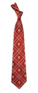 Philadelphia Phillies Woven Polyester Tie
