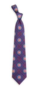 Chicago Cubs Woven Polyester Tie