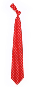 St. Louis Cardinals Pattern Polyester Tie