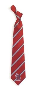 St. Louis Cardinals Woven Polyester Tie