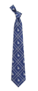 Los Angeles Dodgers Woven Polyester Tie