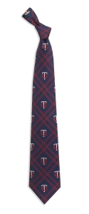 Minnesota Twins Woven Polyester Tie