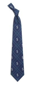 Seattle Mariners Woven Polyester Tie