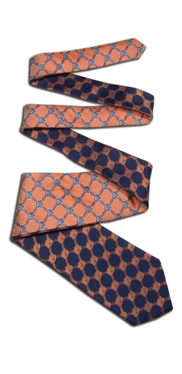 Auburn Tigers Home and Away Reversible Tie