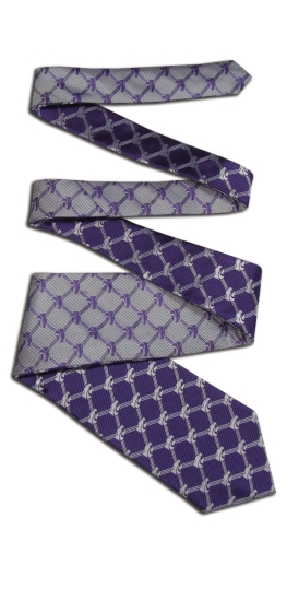 Kansas State Wildcats Home and Away Reversible Tie