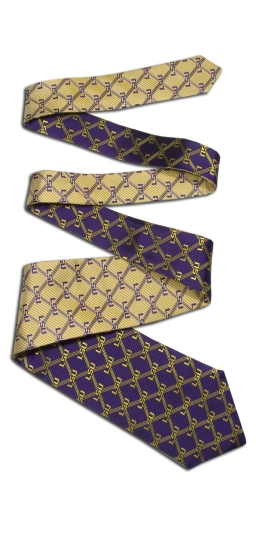 LSU Tigers Home and Away Reversible Tie