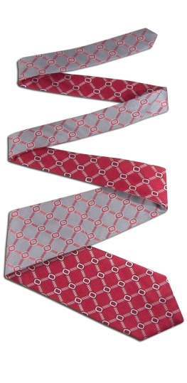 Ohio State Buckeyes Home and Away Reversible Tie