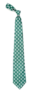 Michigan Wolverines State Spartans Woven Tie