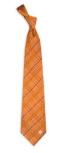 Clemson Tigers Oxford Woven Tie