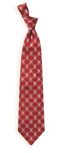 Ohio State Buckeyes Woven Tie