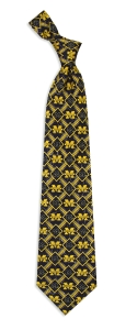 Michigan Wolverines Pattern Tie