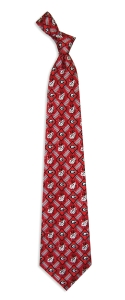 Georgia Bulldogs Pattern Tie