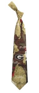 Georgia Bulldogs Vintage Brick Tie