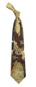 Auburn Tigers Vintage Brick Tie
