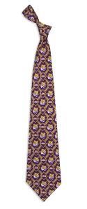 LSU Tigers Pattern Tie