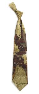 Texas Longhorns Vintage Brick Tie