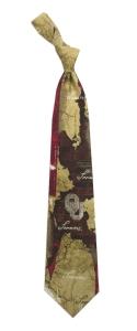 Oklahoma Sooners Vintage Brick Tie