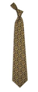 Purdue Boilermakers Pattern Tie