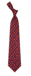 Clemson Tigers Pattern Tie