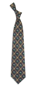 Notre Dame Fighting Irish Pattern Tie