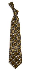 Georgia Tech Yellow Jackets Pattern Tie