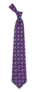 Kansas Jayhawks Pattern Tie