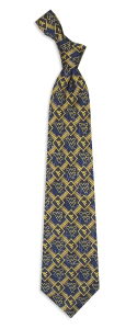 West Virginia Mountaineers Pattern Tie