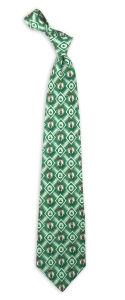 Boston Celtics Pattern Tie
