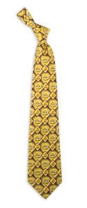 Los Angeles Lakers Pattern Tie