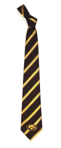 Iowa Hawkeyes Woven Polyester Tie