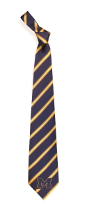Michigan Wolverines Woven Polyester Tie