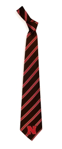 Nebraska Cornhuskers Woven Polyester Tie