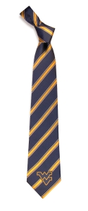 West Virginia Mountaineers Woven Polyester Tie