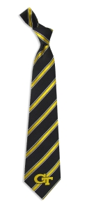 Georgia Tech Yellow Jackets Woven Polyester Tie