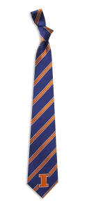 Illinois Fighting Illini Woven Polyester Tie