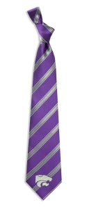 Kansas State Wildcats Woven Polyester Tie