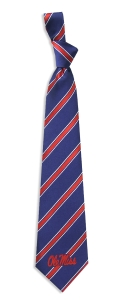 Mississippi Rebels Woven Polyester Tie