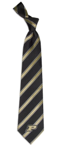 Purdue Boilermakers Woven Polyester Tie