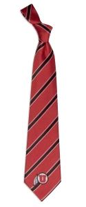 Utah Utes Woven Polyester Tie