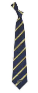 Navy Midshipmen Woven Polyester Tie