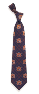 Auburn Tigers Woven Polyester Tie