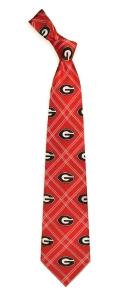 Georgia Bulldogs Woven Polyester Tie
