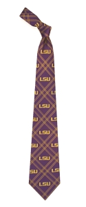 LSU Tigers Woven Polyester Tie