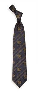 Notre Dame Fighting Irish Woven Polyester Tie