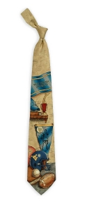 West Virginia Mountaineers Nostalgia Tie