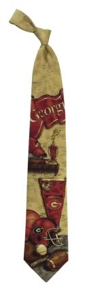 Georgia Bulldogs Nostalgia Tie